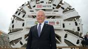Herrenknecht: Ex-Bahnchef Grube berät Tunnelbohrfirma