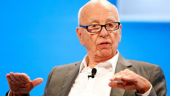 Rupert Murdoch, Executive Chairman News Corp and Chairman and CEO 21st Century Fox speaks at the WSJD Live conference in Laguna Beach in this file photo