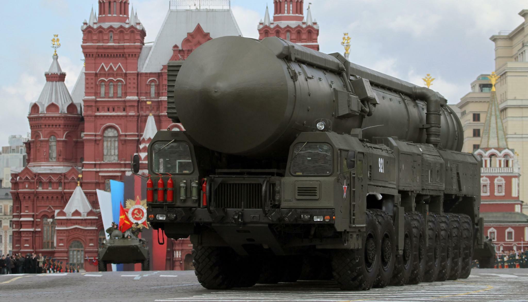 russland radioaktivität