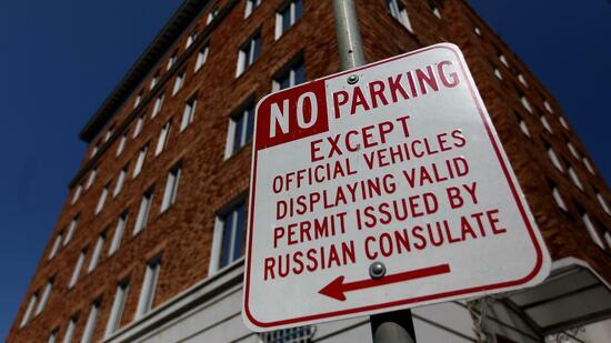 Diplomatische Eiszeit: USA schließen russisches Konsulat in San Francisco
