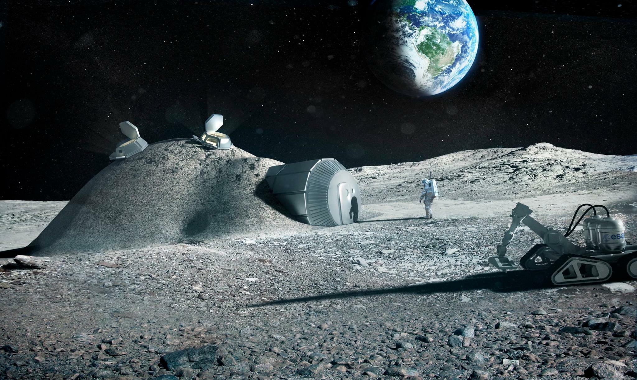 Weltraum: Die deutsche Industrie will zum Mond