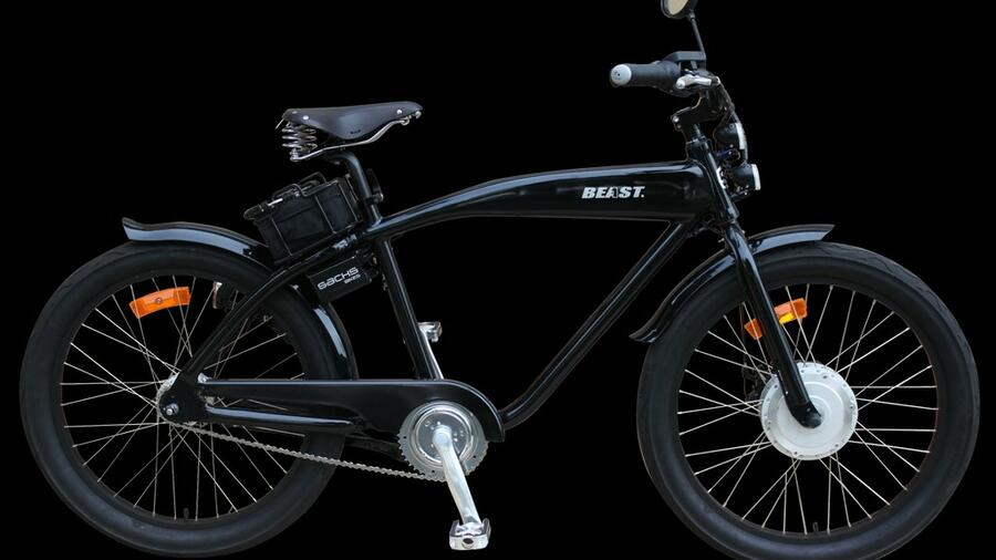 E-Bike im Retro-Design: Sachs Beast