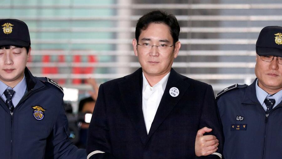 Samsung-Erbe Lee Jae Yong auf Bewährung frei