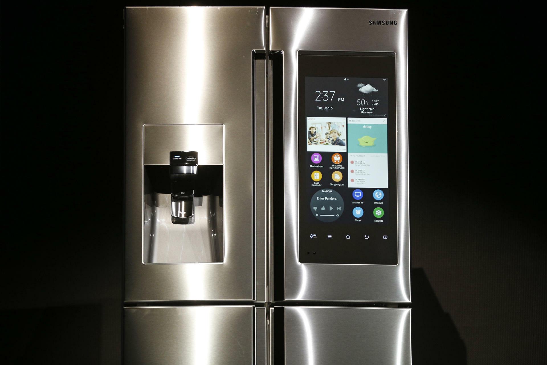 Samsung Family Hub: Mit diesem Kühlschrank kann eingekauft werden