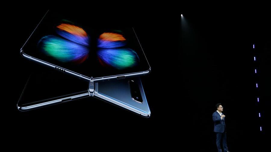 Samsungs präsentiert das faltbare Galaxy Fold