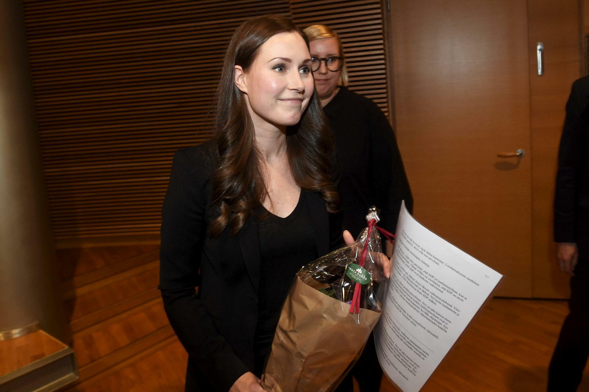 Finnland: Sozialdemokraten wählen Marin als Ministerpräsidentin aus