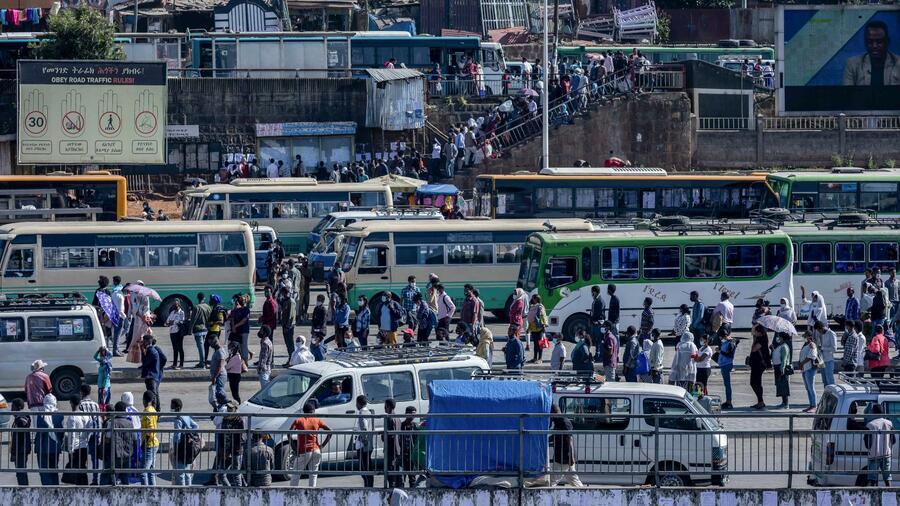 Obwohl Tigray mit 5 Millionen Menschen nur einen kleinen Teil der äthiopischen Gesamtbevölkerung von 110 Millionen Menschen ausmacht, hat es seit jeher einen überproportional großen Einfluss. Quelle: AP