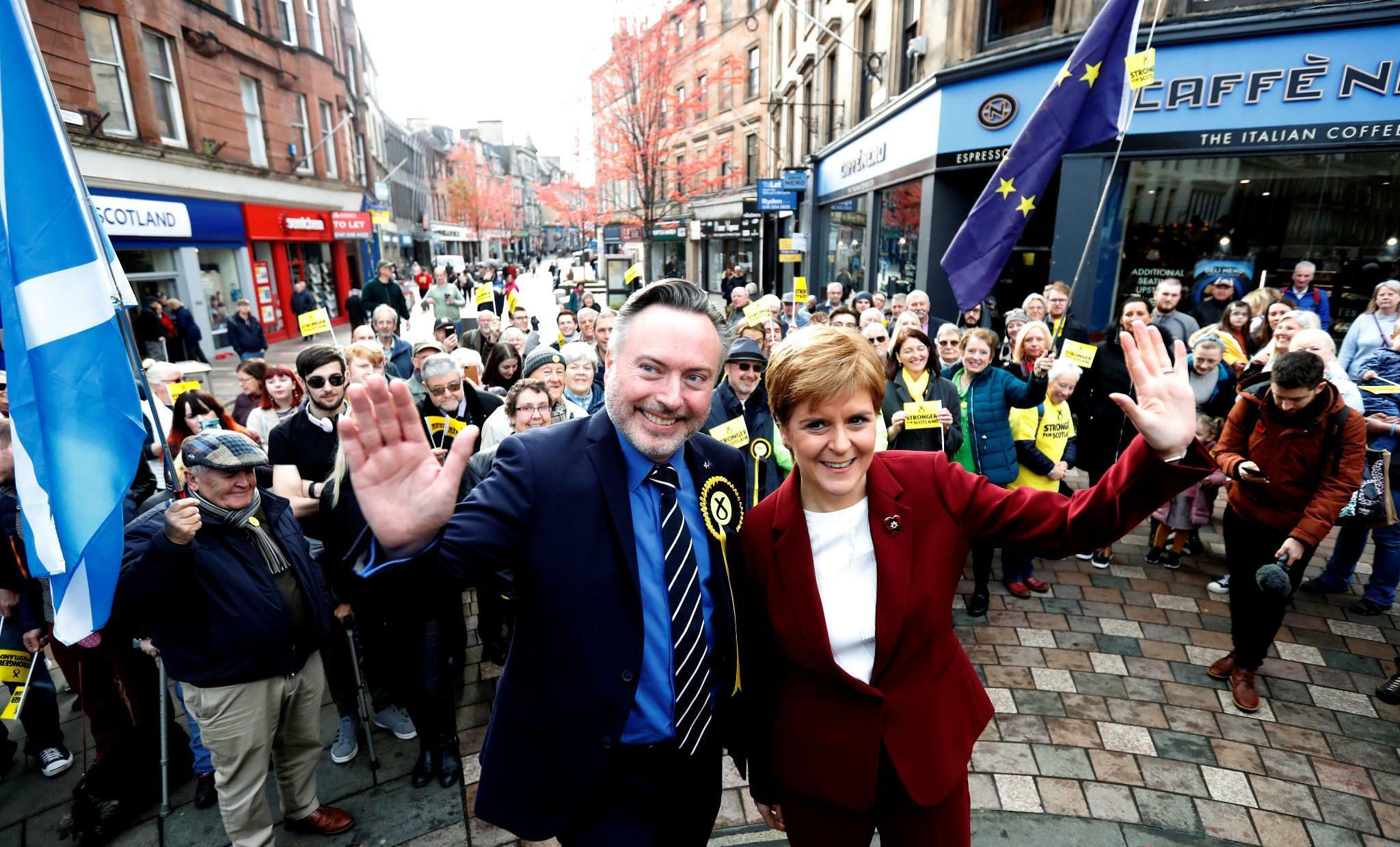 Wie die Schottische Nationalpartei für die Unabhängigkeit kämpft