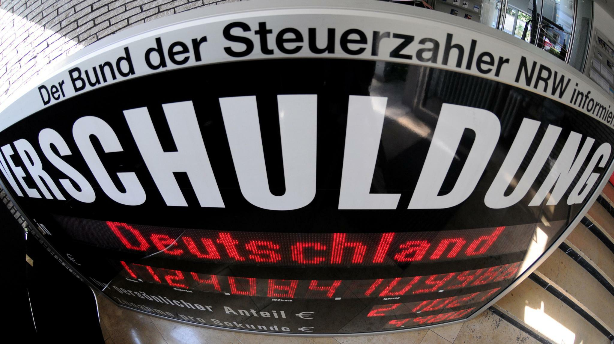 Deutschland baut Verbindlichkeiten um 52 Milliarden Euro ab