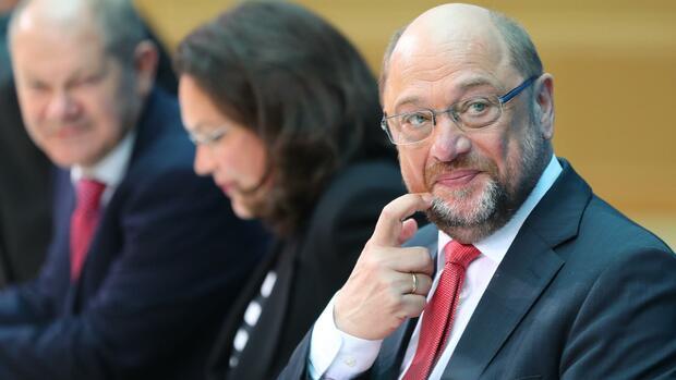 SPD: Schulz will angeblich gegen Nahles um Fraktionsvorsitz antreten