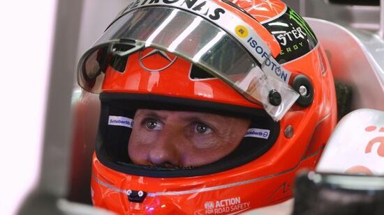 Jetzt könnt Ihr Michael Schumacher auf Facebook und Instagram folgen