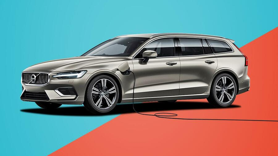 Volvo V60 T6 Recharge 2020 Im Test Preis Ps Tempo Leasing