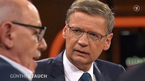 """Jauch und Talkgast Schwan (l.): """"Dummheit in höchster Form"""""""