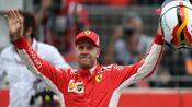 """Motorsport: Vettel """"voller Adrenalin"""" auf Pole - Rückschlag für Hamilton"""