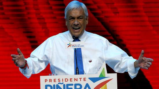 Sebastián Piñera gewinnt Präsidentschaftswahl in Chile