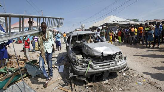 Anschlag auf Markt in Somalia: Selbstmordattentäter reißt 39 Menschen mit in den Tod
