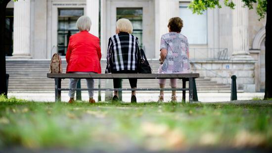 Senioren im Krankenhaus