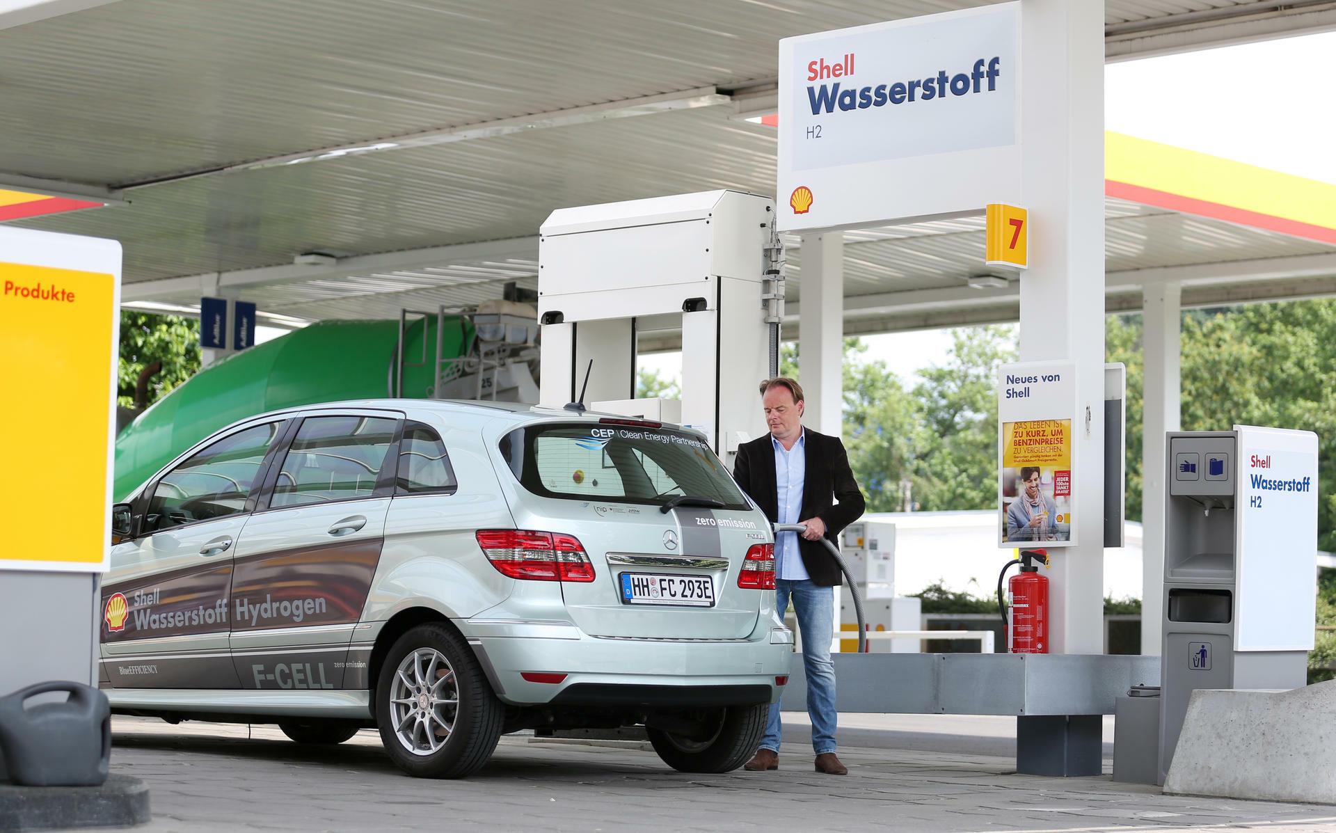 Wasserstoff Tankstellen Der Marktfuhrer Macht Nicht Mit