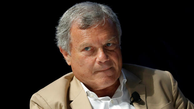 Sir Martin Sorrell, Chairman and Chief Executive Officer of advertising company WPP, attends a conference at the Cannes Lions Festival in Cannes, France, June 23, 2017. REUTERS/Eric Gaillard Quelle: Reuters