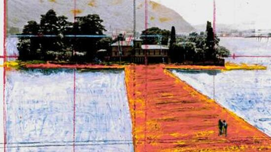 "Skizze zu ""The Floating Piers"""