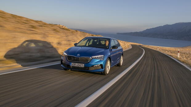 Erdgas-Auto: Pendlers Liebling – der Skoda Scala TGI im Test