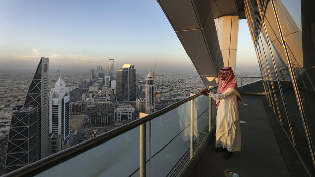 Saudi-Arabien plant gewaltige Projekte. Quelle: Bloomberg/Getty Images
