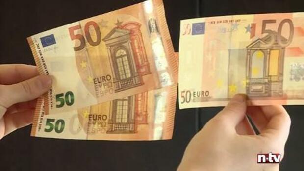 Alter Und Neuer 50 Euro Schein