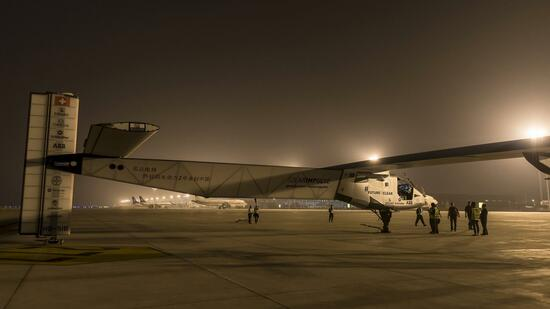 Solar Impulse 2 in Nanjing