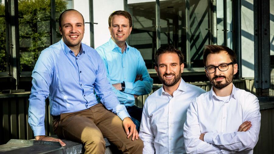 Peter Grüner, Bergen Helms, Maximilian Kissel, Alexander Golovatenko. Quelle: Soley GmbH / Benjamin Olszewski