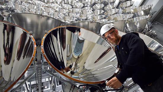 Kraftstoff aus Sonnenlicht: Künstliche Super-Sonne startet