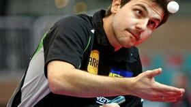 Souverän im Halbfinale: Timo Boll. Foto: Bongarts/Getty Images Quelle: SID