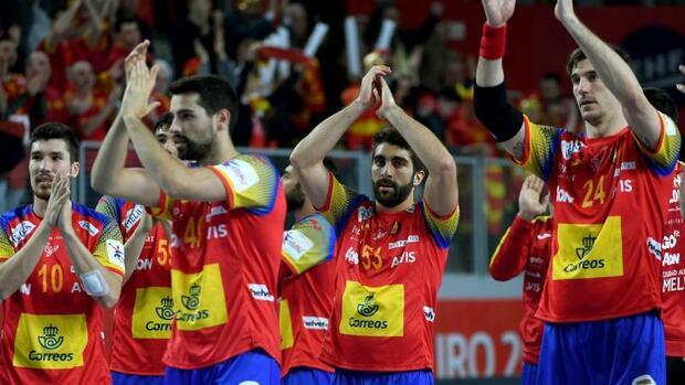 Handball: Spanien wirft sich für Handball-Krimi gegen Deutschland warm