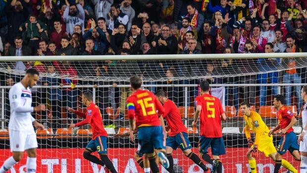 Fußball Italien Spanien