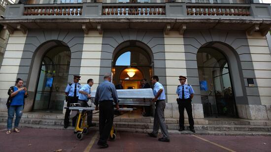 Vaterschaftsklage: Exhumierung von  Salvador Dalí hat begonnen