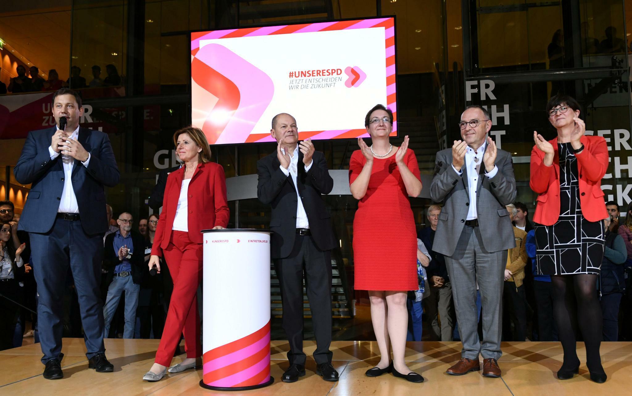 Kein klarer Sieger bei SPD-Mitgliederentscheid