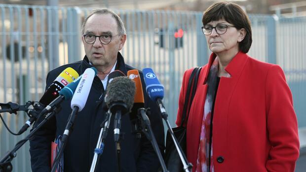 Thüringen: SPD-Vorsitzende loben Ergebnis des Koalitionsausschusses