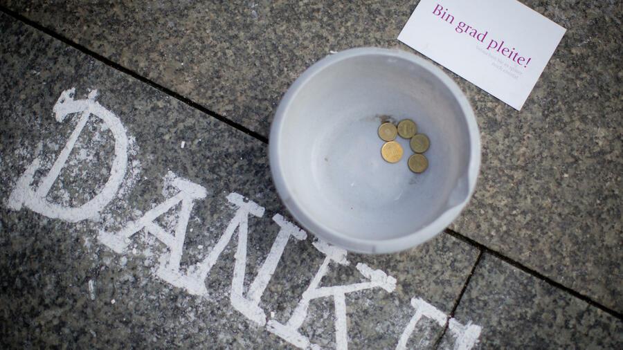 Stockholm Obdachlose Akzeptieren Kreditkarten