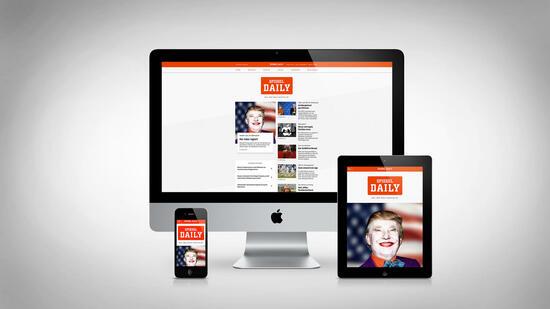 Digitale tageszeitung spiegel daily mit harald schmidt for Spiegel daily