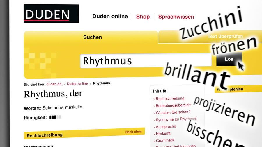 Deutsche Sprache Duden Wörterbuch Kostenlos Online
