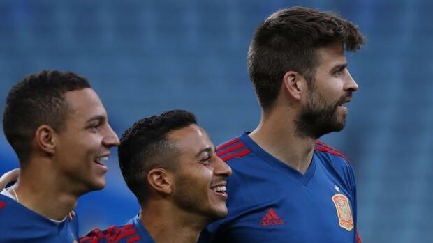 Fußball: Spanien mit Thiago in der Startelf...