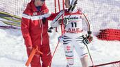 Ski alpin: Saison-Aus für Ski-Ass Luitz nach Sturz: Innenbandeinriss