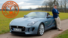 Jaguar F-Type im 100. Handelsblatt-Autotest: Gentleman, start your engine!