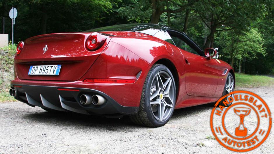 Ferrari California T Im Handelsblatt Test Der Turbo Kommt Der