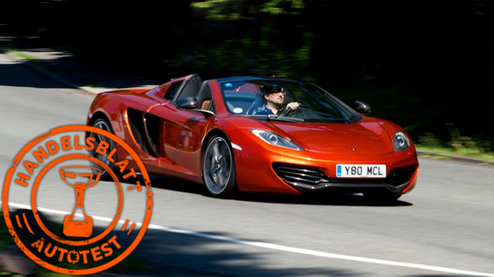 McLaren MP4-12C Spider im Test