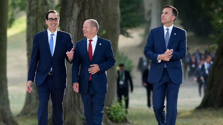 Steuern, Kryptowährungen, IWF-Nachfolge – Was beim G7-Treffen alles diskutiert wurde