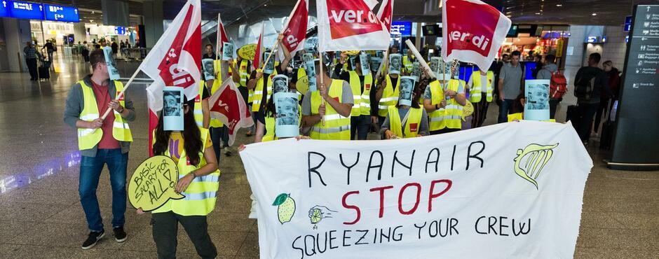 Ryanair Mitarbeiter In Deutschland Streiken 150 Flugausfälle