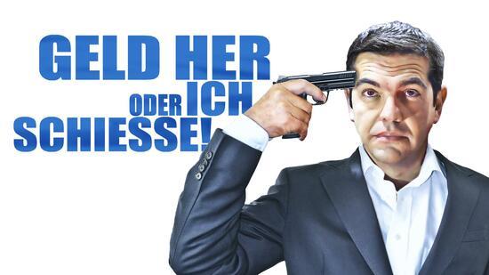 Versucht Griechenlands Premier Alexis Tsipras die Euro-Partner zu erpressen?
