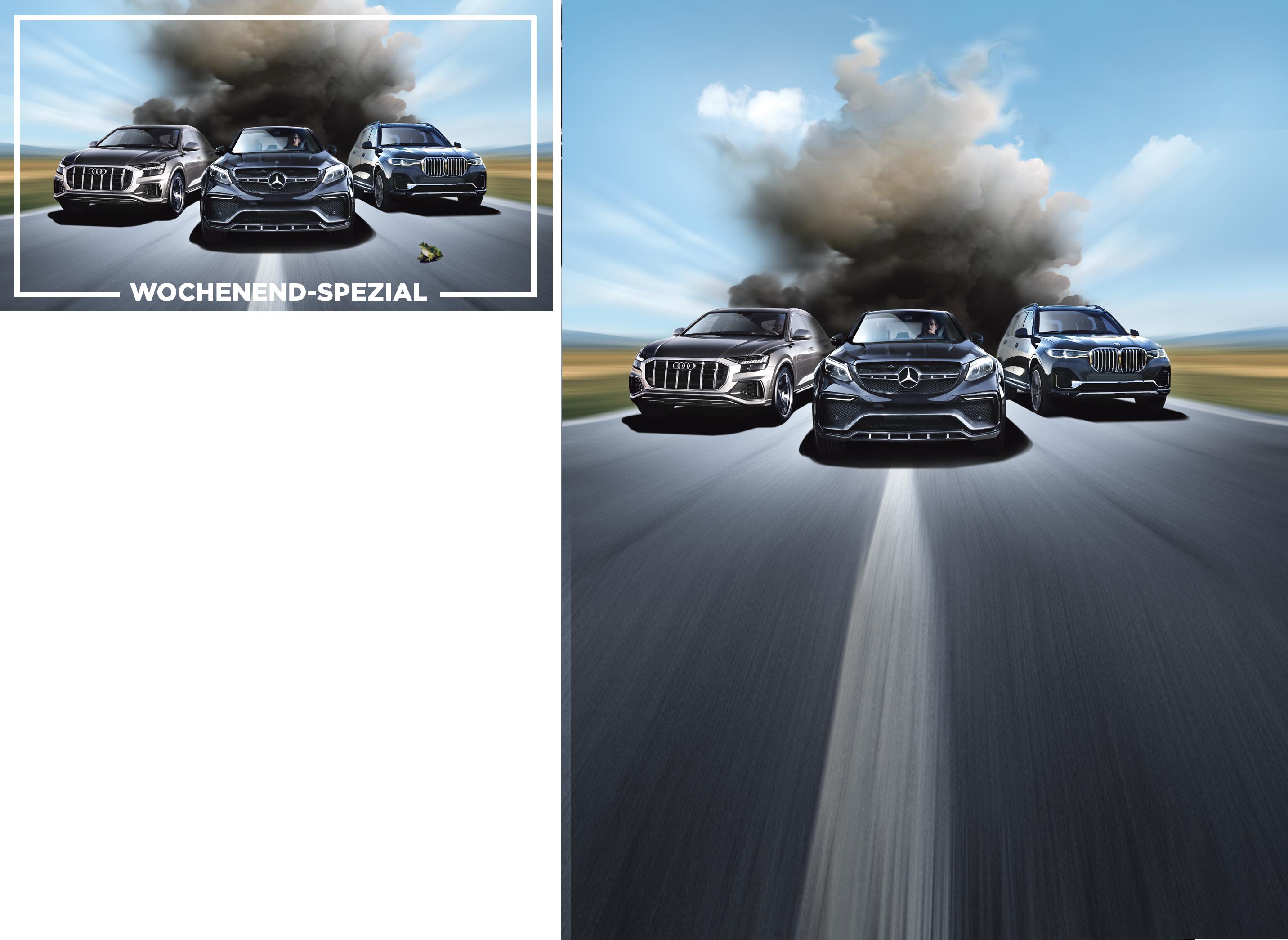 BMW, Daimler, VW, Audi: Der SUV-Wahnsinn