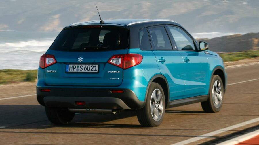 Suzuki Vitara Im Handelsblatt Autotest Der Range Rover Aus Dem