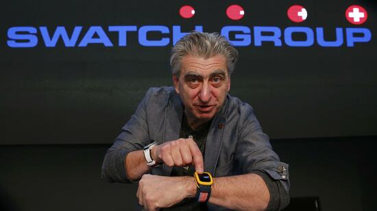 Swatch-Chef Nick Hayek